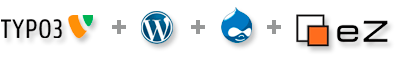 TYPO3 - WordPress - Drupal